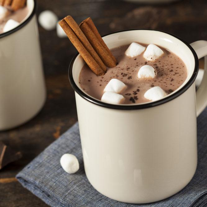 Klar til vinteren: varm kakao og boller